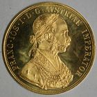 Photo numismatique  MONNAIES MONNAIES DU MONDE AUTRICHE FRANCOIS-JOSEPH (1848-1916) 4 ducats d'or.