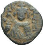Photo numismatique  MONNAIES MONNAIES DU MONDE MONNAIES ARABES ARABO-BYZANTINES Fal de 635-670.
