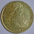 Photo numismatique  MONNAIES MONNAIES DU MONDE PEROU CHARLES IV, roi d'Espagne (1788-1808) 8 escudos d'or.