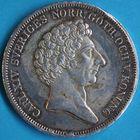Photo numismatique  MONNAIES MONNAIES DU MONDE SUEDE CHARLES XIV (1818-1844) Riksdaler de 1839.