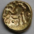 Photo numismatique  MONNAIES IBERIE- GAULE - CELTES AMBIANI (Bassin de la Somme)  Statère aux deux S.