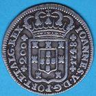 Photo numismatique  MONNAIES MONNAIES DU MONDE PORTUGAL JEAN V (1706-1750) 200 reis.