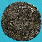 Photo numismatique  MONNAIES BARONNIALES Comté de FLANDRE PHILIPPE LE BON (1419-1467) Double gros vierlander.