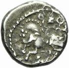 Photo numismatique  MONNAIES GAULE - CELTES SEQUANES (région de Besançon)  Drachme.
