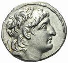 Photo numismatique  MONNAIES GRECE ANTIQUE ASIE MINEURE. Rois de SYRIE Antiochus VII Evergète (138-129) Tétradrachme.