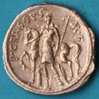 Photo numismatique  MONNAIES RÉPUBLIQUE ROMAINE P. Licinius Crassus M. f. (vers 55)  Denier.
