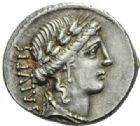 Photo numismatique  MONNAIES REPUBLIQUE ROMAINE Man Acilius Glabrio (vers 49)  Denier.