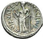 Photo numismatique  MONNAIES RÉPUBLIQUE ROMAINE Man Acilius Glabrio (vers 49)  Denier.