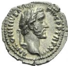 Photo numismatique  MONNAIES EMPIRE ROMAIN ANTONIN LE PIEUX (César 138 - Auguste 138-161)  Denier.