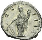 Photo numismatique  MONNAIES EMPIRE ROMAIN ANTONIN LE PIEUX (César 138 - Auguste 138-161)  Denier.