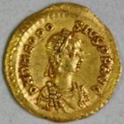 Photo numismatique  MONNAIES EMPIRE ROMAIN THÉODOSE II (408-450)  Tremissis.