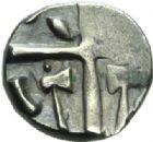 Photo numismatique  MONNAIES GAULE - CELTES VOLQUES TECTOSAGES (région de Toulouse)  Drachme aux haches affrontées.