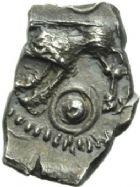 Photo numismatique  MONNAIES GAULE - CELTES RUTENES (région du Tarn et de l'Hérault)  Drachme.