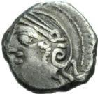 Photo numismatique  MONNAIES GAULE - CELTES LINGONES (région de Langres)  Quinaire de Kaletedou.