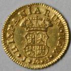 Photo numismatique  MONNAIES MONNAIES DU MONDE ESPAGNE FERDINAND VI (1746-1759) Demi escudo d'or.