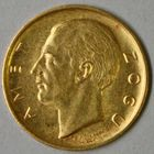 Photo numismatique  MONNAIES MONNAIES DU MONDE ALBANIE AHMED BEY ZOGU (1925-1928) 10 franga ari or.