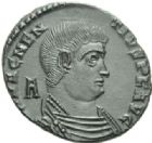 Photo numismatique  MONNAIES EMPIRE ROMAIN MAGNENCE (350-353)  Centenionalis.