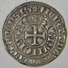 Photo numismatique  MONNAIES BARONNIALES Comté de HAINAUT GUILLAUME Ier (1304-1337) Baudekin de la 1e émission.