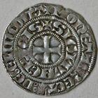 Photo numismatique  MONNAIES BARONNIALES Seigneurie d'ÉLINCOURT GUI IV de Saint-Pol (1300-1317) Baudekin de la 3e émission.