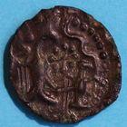 Photo numismatique  MONNAIES IBERIE- GAULE - CELTES CARNUTES (région de Chartres)  Bronze.