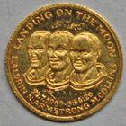Photo numismatique  MEDAILLES MONNAIES DU MONDE ÉTATS-UNIS d'AMÉRIQUE du NORD  Premier alunissage du 21 juillet 1969.
