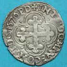 Photo numismatique  MONNAIES BARONNIALES Duché de SAVOIE EMMANUEL-PHILIBERT (1553-1580) Soldo de 1570.