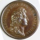 Photo numismatique  MEDAILLES ROYALES FRANCAISES LOUIS XIV (14 mai 1643-1er septembre 1715)  Rétablissement de la Marine Française.
