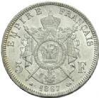 Photo numismatique  MONNAIES MODERNES FRANÇAISES NAPOLEON III, empereur (2 décembre 1852-1er septembre 1870)  5 francs.