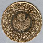 Photo numismatique  MONNAIES MONNAIES DU MONDE TURQUIE République (Depuis 1923) 50 kurush or.
