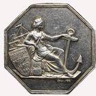 Photo numismatique  JETONS PÉRIODE MODERNE CHAMBRE DE COMMERCE Abbeville (Somme) Jeton, 1841.