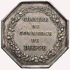 Photo numismatique  JETONS PÉRIODE MODERNE CHAMBRE DE COMMERCE DIEPPE (Seine-Maritime) Jeton.