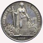 Photo numismatique  JETONS PÉRIODE MODERNE CHAMBRE DE COMMERCE LILLE (Nord) Grand jeton.