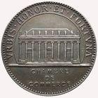 Photo numismatique  JETONS PÉRIODE MODERNE CHAMBRE DE COMMERCE NANTES (Loire-Atlantique) Jeton.