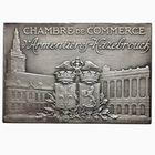 Photo numismatique  MEDAILLES PÉRIODE MODERNE CHAMBRE DE COMMERCE ARMENTIERES-HAZEBROUCK Plaquette.