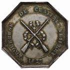 Photo numismatique  JETONS PERIODE MODERNE VILLES CHATEAU-THIERRY (Aisne) Jeton de l'Arquebuse.