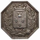 Photo numismatique  JETONS PERIODE MODERNE VILLES VERSAILLES (Yvelines) Jeton, 1821.