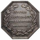 Photo numismatique  JETONS PÉRIODE MODERNE VILLES VERSAILLES (Yvelines) Jeton, 1821.
