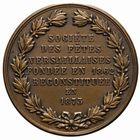 Photo numismatique  JETONS PÉRIODE MODERNE VILLES VERSAILLES (Yvelines) Jeton de la Société des fêtes.