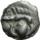 Photo numismatique  MONNAIES GAULE - CELTES REMI (région de Marne et Ardennes)  Potin.