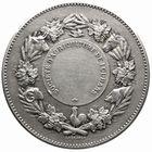 Photo numismatique  MEDAILLES PÉRIODE MODERNE AGRICULTURE, HORTICULTURE LOUHANS (Saône-et-Loire) Sté d'Agriculture Médaille.