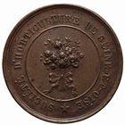 Photo numismatique  JETONS PERIODE MODERNE AGRICULTURE, HORTICULTURE VERSAILLES (Yvelines) Jeton de la Sté d'Horticulture.