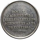 Photo numismatique  JETONS PERIODE MODERNE AGRICULTURE, HORTICULTURE POITIERS (Vienne) Jeton de la Sté d'Agriculture.