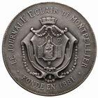 Photo numismatique  JETONS PERIODE MODERNE PRESSE MONTPELLIER (Hérault) Jeton du journal l'Eclair.