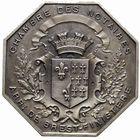 Photo numismatique  JETONS PERIODE MODERNE NOTAIRES BREST (Finistère) Jeton.