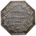 Photo numismatique  JETONS PERIODE MODERNE NOTAIRES COMPIEGNE (Oise) Jeton.