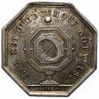 Photo numismatique  JETONS PERIODE MODERNE NOTAIRES COSNE (Nièvre) Jeton.