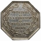 Photo numismatique  JETONS PERIODE MODERNE NOTAIRES DOULLENS (Somme) Jeton.