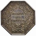 Photo numismatique  JETONS PERIODE MODERNE NOTAIRES DREUX (Eure-et-Loir) Jeton.