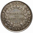 Photo numismatique  JETONS PERIODE MODERNE NOTAIRES LAON (Aisne) Jeton.