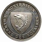 Photo numismatique  JETONS PERIODE MODERNE NOTAIRES MONTBRISON (Loire) Jeton.